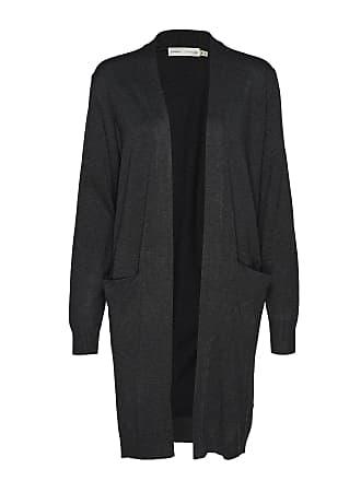 d39c009f6ae8 Inwear Zeneeiw Cardigan Stickad Tröja Cardigan Grå INWEAR