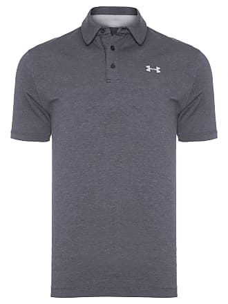 Under Armour POLO MASCULINA CHARGED COTTON SCRAMBLE - CINZA
