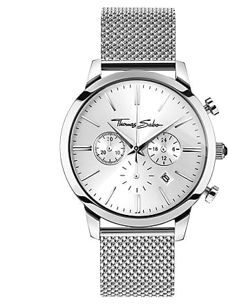 Thomas Sabo Thomas Sabo Mens Watch silver-coloured WA0244-201-201-42 MM