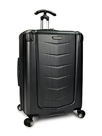 3278c116b Travelers Choice Silverwood 100% Polycarbonate Durable Hardshell Expandable  Dual Cyclone Wheels 26-inch Medium