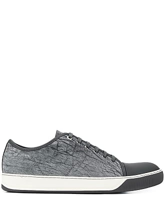 Lanvin marbled low top sneakers - Grey