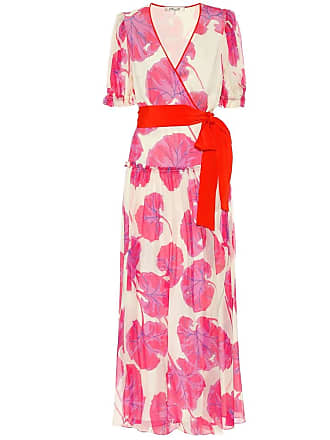 Diane Von Fürstenberg Breeze printed silk chiffon maxi dress