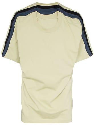 Y / Project Camiseta listrada - Verde