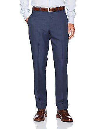 Perry Ellis Mens Portfolio Modern Fit Performance Pant, Mood Indigo, 40x32