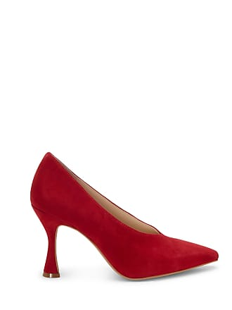 Vince Camuto Womens Ishani High Cut Pumps Ramba Red Size 10 ALICANTE SHEEP From Sole Society