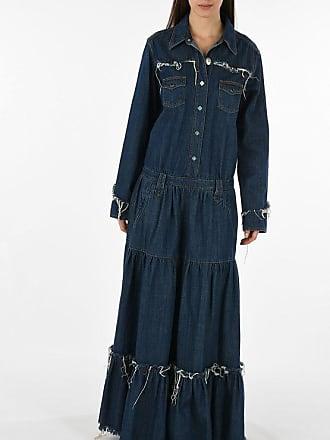 Alanui denim evening lenght dress size M