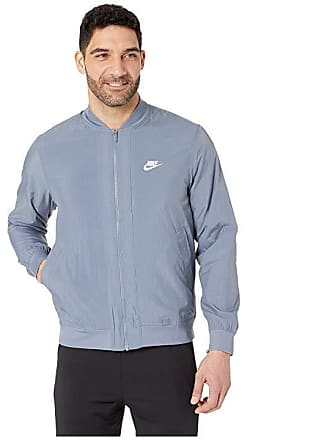 Nike NSW Woven Players Jacket (Armory Blue White) Mens Coat bf888589f