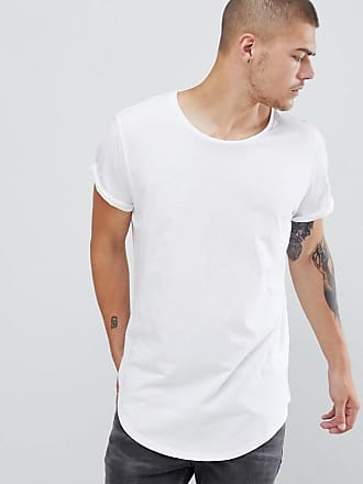 G-Star Vontoni long line t-shirt in white - White