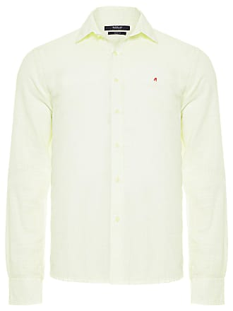 Replay CAMISA MASCULINA WASHED - VERDE