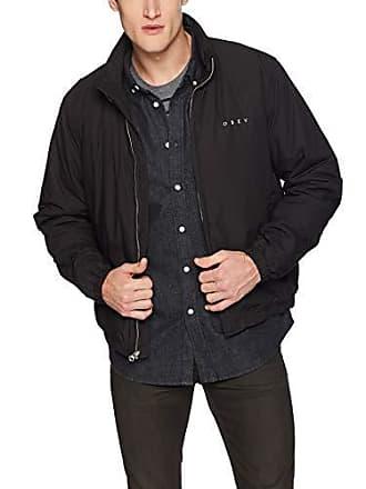 Obey Mens Debaser II Cropped Jacket, Black, Small