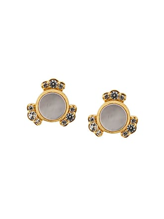 Astley Clarke Binco Mother of Pearl em ouro 18kt - Metálico