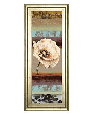 Classy Art Elemental Poppy II Framed Wall Art - 18W x 42H in. - 1269