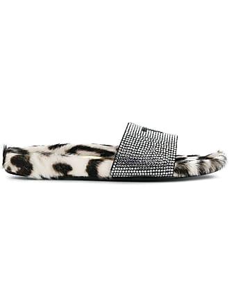 Tom Ford embellished TF slides - Black
