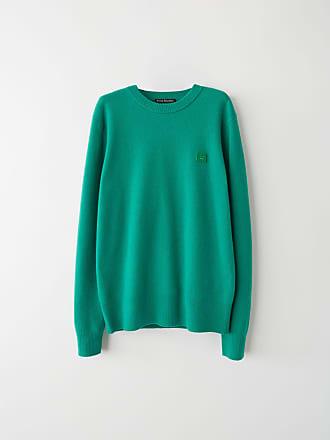 Acne Studios FA-UX-KNIT000008 Bright Green Crewneck sweater