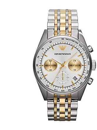 Emporio Armani Relógio Emporio Armani Masculino Prata e Dourado - Har6116 z d437a95129