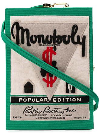 Olympia Le-Tan Bolsa clutch Monopoly Popular Edition - Verde