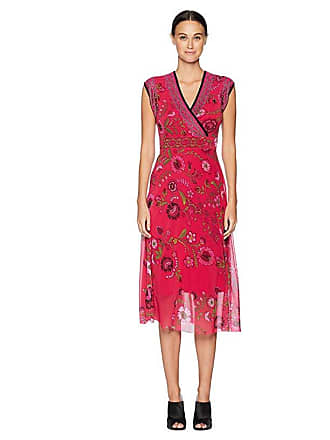 Fuzzi Sleeveless Folk Flower Dress (Petunia) Womens Dress