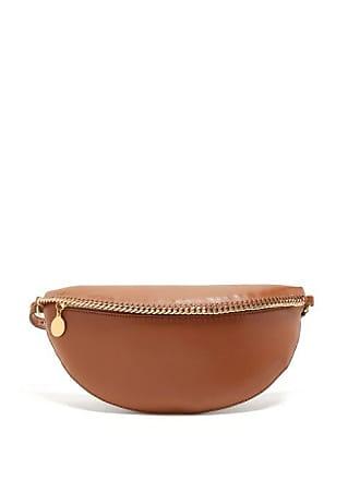 Stella McCartney Stella Mccartney - Falabella Faux Leather Belt Bag - Womens - Tan