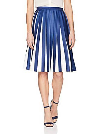 3c2d0e7024 Lacoste Womens Pleated Jersey Colorblock Skirt, Methylene/Flour 4