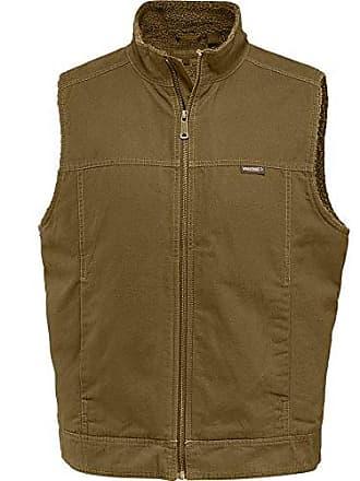 Wolverine Mens Porter Sherpa Lined Vest, peat, Large