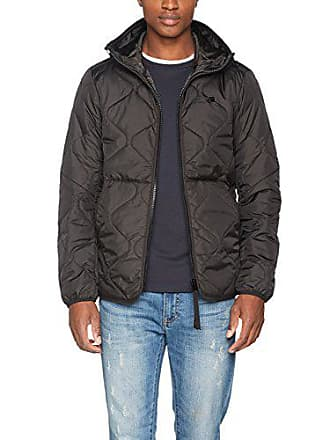0c70ca078d5c2 G-Star Edla TS Liner HDD Overshirt, Blouson Homme, Noir (Black 990