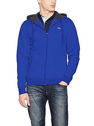 52b12f96a9 Lacoste Sport SH7609 Sweat-Shirt Homme Bleu (Paquebot/Bitume A2v) Small (