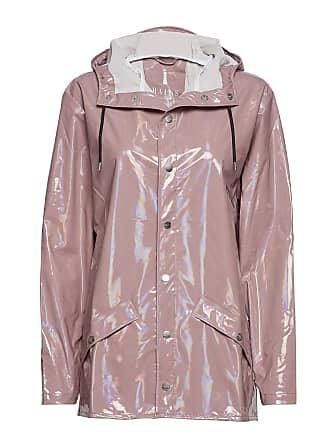 a4c193eb Rains Holographic Jacket Regnkläder Rosa RAINS
