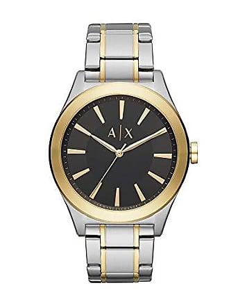 Armani Relógio Armani Exchange Masculino Clássicos E Diferenciados Bicolor Ax2336/1kn