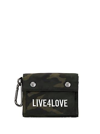 Ports V Carteira Live 4 Love com estampa camuflada - Verde
