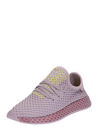 a84db4952fe04b adidas Sneaker Deerupt Runner gelb   flieder   rot
