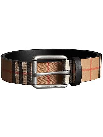59462f60a74d Burberry Vintage Check Leather Belt - Neutrals
