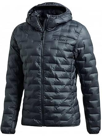 adidas Lite Down Hooded Jacket Daunenjacke für Herren   schwarz b2c66d3d83