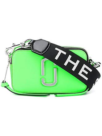 Marc Jacobs Bolsa transversal Snapshot de couro - Verde