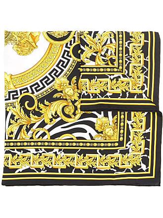 Versace Barocco print scarf - Preto