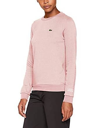 b88a3cf72e0 Lacoste Sport SF7975 Pull Femme Rose (Repens Chiné 9nl) 42 (Taille Fabricant