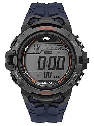 Mormaii Relógio Masculino Mormaii MO1147A/8A - Preto/Azul
