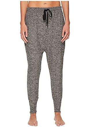 99a810eaebccf Beyond Yoga Weekend Traveler Midi Sweatpants (Black/White Spacedye) Womens  Casual Pants
