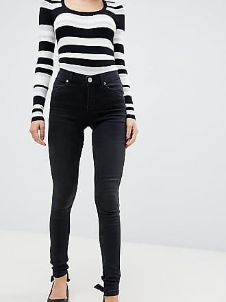 e48be8e12909ef Oasis Jade - Enge Jeans in verwaschenem Schwarz - Grau