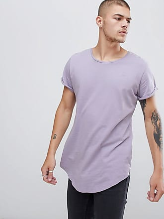 G-Star Vontoni long line t-shirt in lilac - Purple