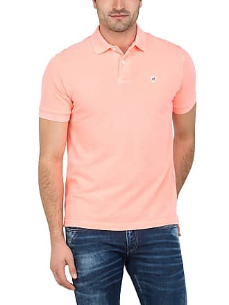 5ddceea4 Replay Mens M3537.000.22450m Polo Shirt, Red (Coral Fluo 153),