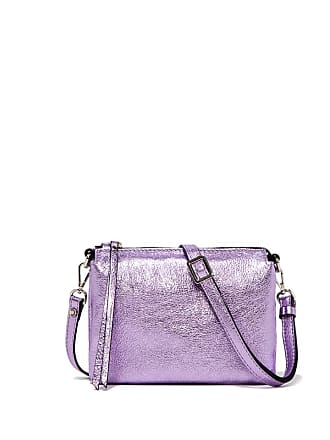Gianni Chiarini three small lilac cross body bag