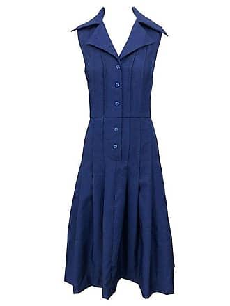 ca563de8969 Saks Fifth Avenue 1990s Saks 5th Avenue Size 10 Navy Blue Silk Vintage 90s  Sleeveless Shirt