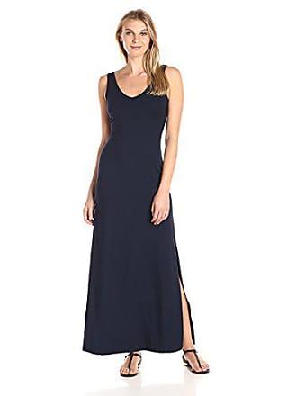 Karen Kane Womens Alana Maxi Dress, Navy, XS