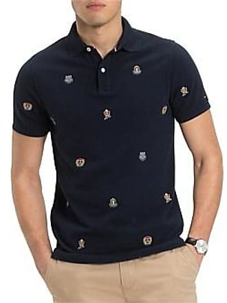 47783fc0e5 Tommy Hilfiger Crest Embroidery Slim Polo