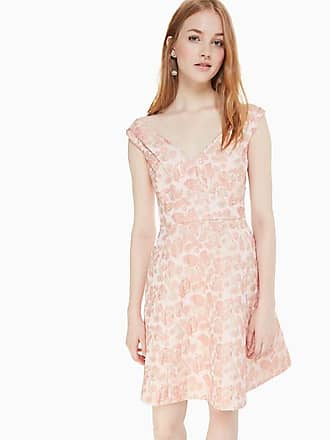 91060116dcff Kate Spade New York Metallic Jacquard Dress, Rose Dew - Size 10