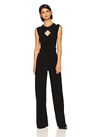 d506dd36eff Norma Kamali Womens Sleeveless Cut Out Jumpsuit