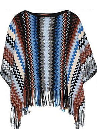 Missoni Missoni Woman Medium Knit Blue Size ONESIZE