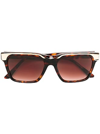 Emmanuelle Khanh square frame sunglasses - Marrom