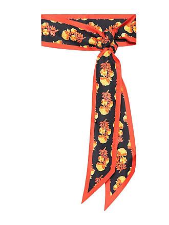 Chloé Floral silk-twill scarf