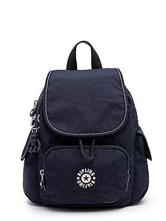 b8c476571 Kipling Womens City Pack Medium, Adjustable Backpack Straps, Zip Closure,  Blue Tropics